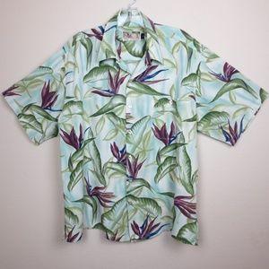 Vintage Tori Richard Hawaiian Shirt Size Large